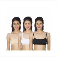 Johnson Pack of 3 Rainbow Bra