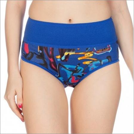 Johnson Women's Printed Slim Fit Breeza Panties Pack of 3