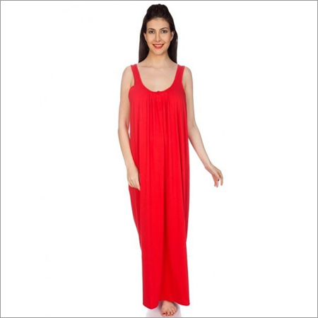 Ladies Knitted Cotton Nighty