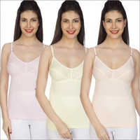 Combo 100% Comed Knitted Cotton Sona Slip