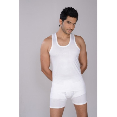 Men's 100% Combed Cotton Banian