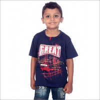 Boy Blue 100% Comed Knitted T-Shirt