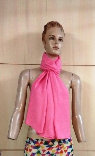 100% woolly Twill solid colour shawls