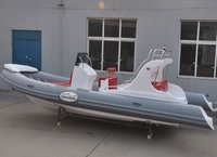 6.6m/22feet RIB Hypalon Inflatable Boat