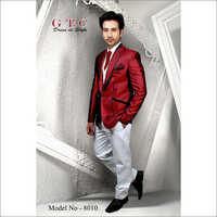 4 Pieces Men's Designer Suit