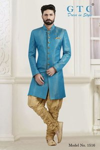 Men's Modern Indo Western Sherwani