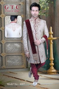 Men's Heavy Work Indo Western Sherwani