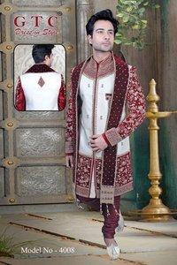Men's Velvet Indo Western Sherwani