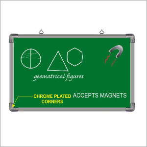 Magnetic Green Chalk Board