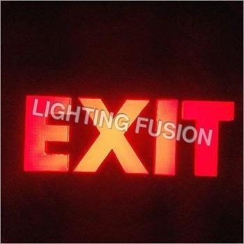 Exit LED Signage Lights