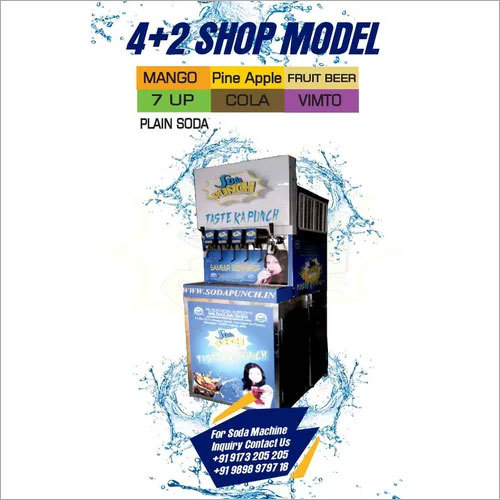 4+2 Soda Vending Machine