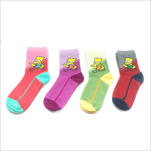 Kids Printed Socks