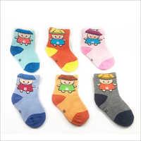 Newborn Kids Printed Socks