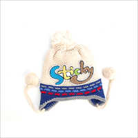 Newborn Kids Printed Cap
