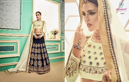 Blue Coloured Lehenga Choli