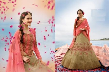 Bridal Silk Lehenga Choli