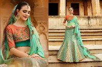 Heavy Bridal Wear Lehenga
