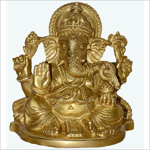 Ganesha Brass Statues
