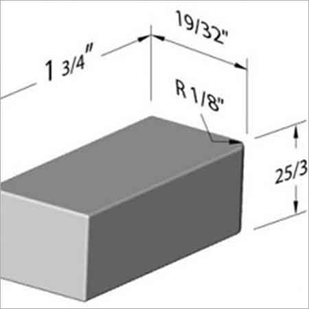Corner BLOCK Tungsten Bucking Bar