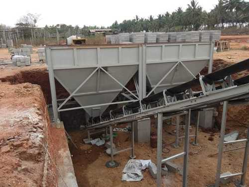 Automatic Feeder Unit - 2 Bin Belt Conveyor Type