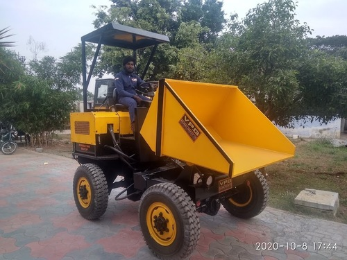 Mini Dumper - 4 Wheel Drive