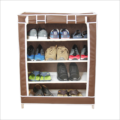 Single Row Portable Shoe Rack