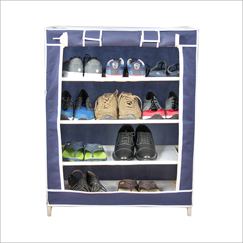 Non Woven Cloth Foldable Shoe Rack