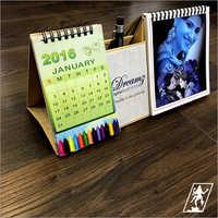 Pen Stand Table Calendar