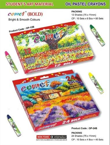 Oil Plastic Crayon