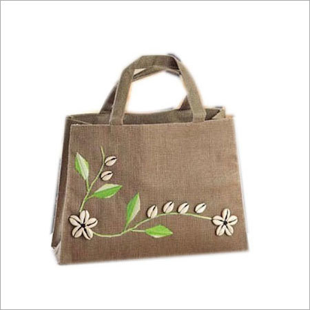 New Jute Designer Bag