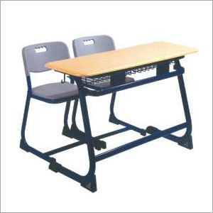 Student Double Desk Chair