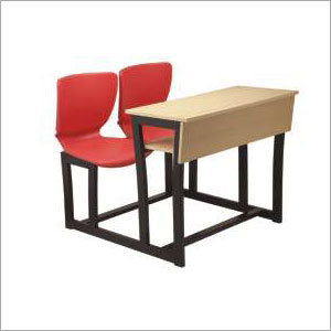Double Seater Student Desk