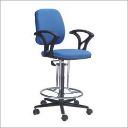 Adjustable Swivel Cafe Chair