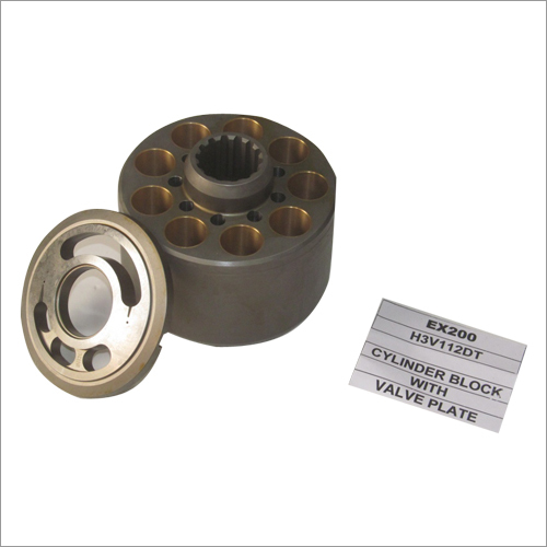 Cylinder Block with Valve Plate