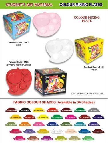 Colours Mixing Plates