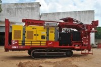 Crawler Mounted Geotechnical Drilling Rig