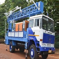 Bore Hole Drilling Rig In 200 Meters
