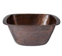 Antique Copper Single Bowl Kitchen Sink