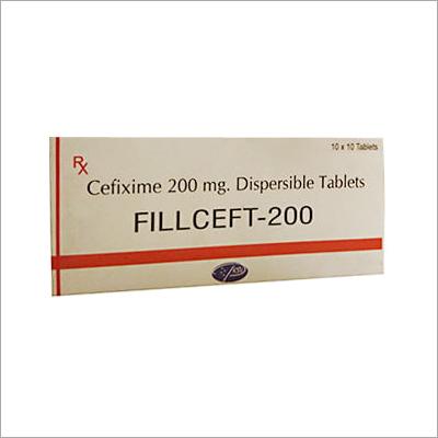 Cefixime Tablets 200 Mg