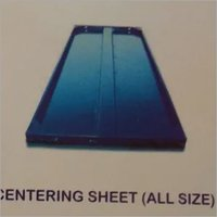 Centering Sheet
