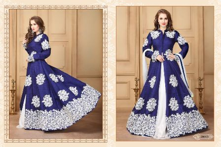 Middlecut Anarkali Suit