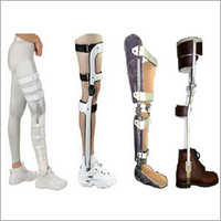 Polio Knee Caliper Brace