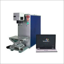 Portable Type Fiber Laser Engraving Machine