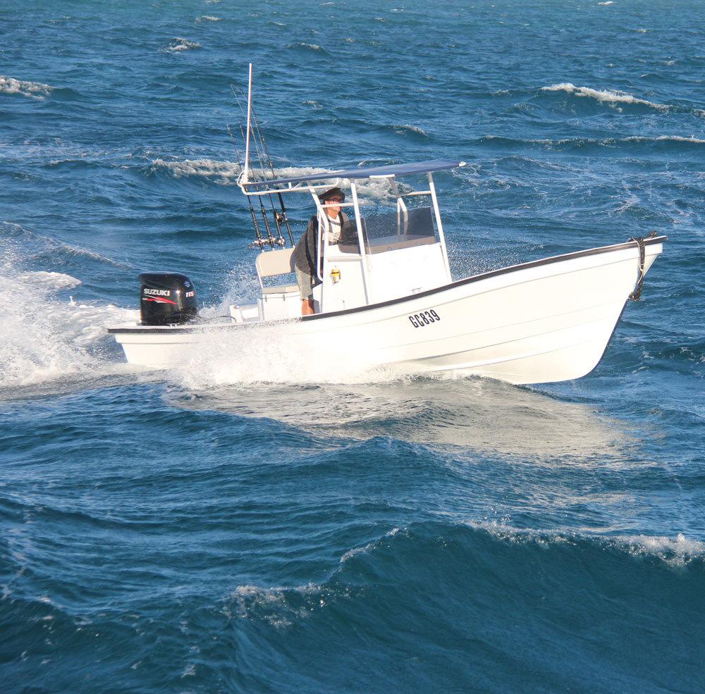 Liya 25ft Panga Boat Fishing Boat for sale