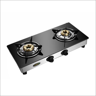 Crystal Namo Double Burner Gas Stove