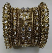 Designed Brass Bangles