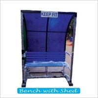 Bench With Shed