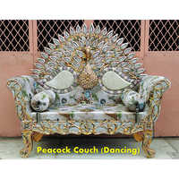 Peacock Couch Wedding Chair
