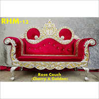 Rose Couch Wedding Chair