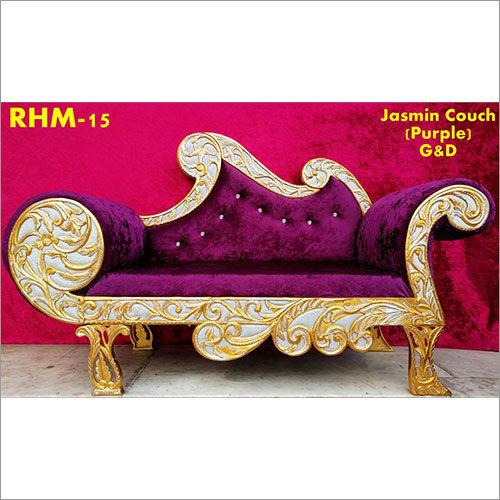 Purple Couch Wedding Chair